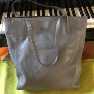 BC BG faux leather tote